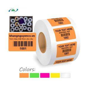 Decal giấy in tem màu
