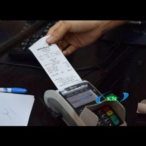 Giấy in hóa đơn k57x30 máy pos quẹt thẻ