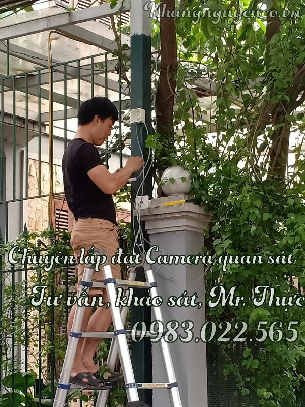 Lắp Đặt Camera Trọn Gói Giá Rẻ ở Hoàng Mai Hà Nội