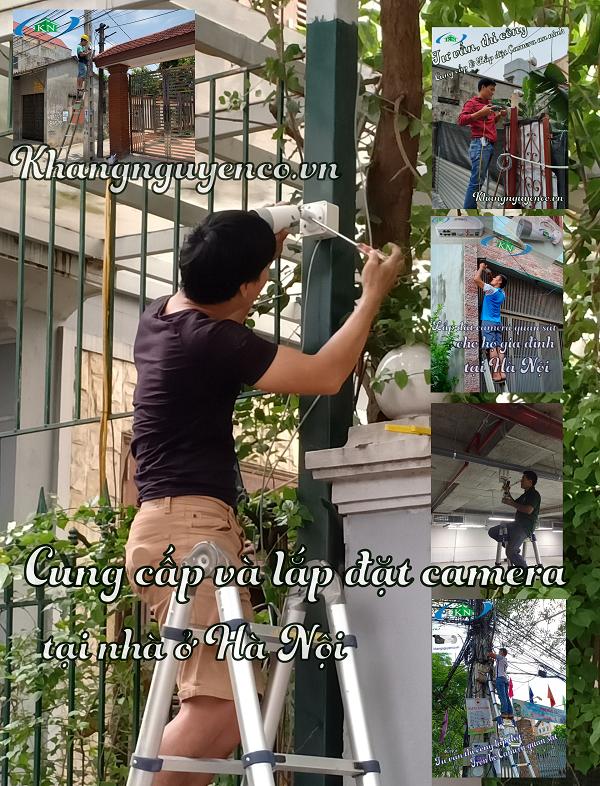 Cung cấp và lắp đặt camera tại nhà ở Hà Nội