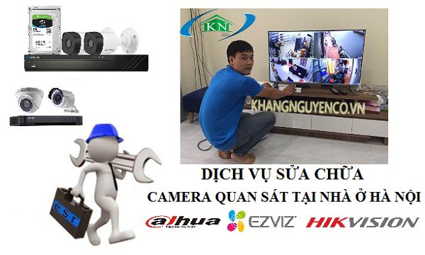 Dịch vụ sửa chữa camera tại nhà ở Hà Nội