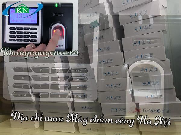 Máy chấm công vân tay Hà Nội