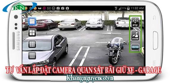 Tư vấn lắp đặt camera quan sát cho bãi giữ xe